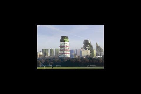 Alsop's designs for Croydon lead